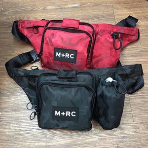 Tasarımcı-M + RC SİYAH RR Bel Çantası Messenger Çanta Crossbody Omuz Çantası Erkekler Fanny Paketi Tasarımcı Erkekler Bel Paketi Harf Çanta Ücretsiz Kargo