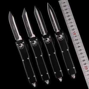 크리스마스 선물 자동 마이크로 기술이 있입니다 UTX 85 자동 더블 액션 전술 칼 D2 생존 칼 MT의 생일 선물의 EDC 접는 칼