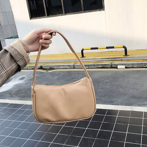 Ladies handbag 2020 retro handbag female small armpit bag casual retro mini shoulder bag