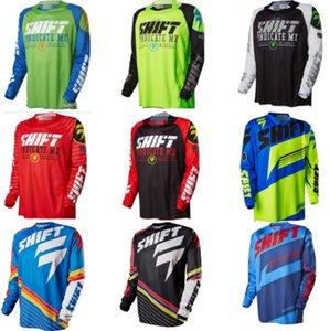 2020 SHIFT الأمريكية انحدار دعوى، وركوب الدراجات والملابس، الرجال تي شيرت، الصيف ذات أكمام طويلة الدراجة الجبلية الوعرة دراجة نارية دعوى، والمؤسسة العامة للتنفس