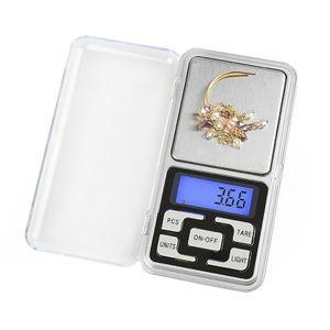 Цифровые весы цифровые ювелирные весы золото серебряная монета зерновой грамм карманный размер травы мини электронная подсветка 100г 200г 500г