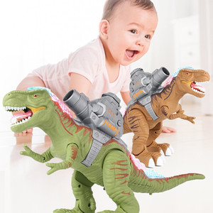 Electronic Remote Control Dinosaur Tyrannosaurus Rex Dinosaur Model Toys Action Figure Animal Toy Christmas Gift