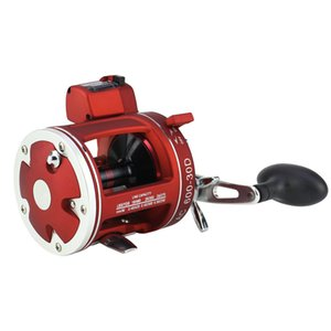 WOEN New Digital display Fishing reel Stainless steel bearing Centrifugal brake Boat fishing Cast Drum Wheel ACL30 50