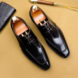 Magical2019 Men Xia Shoes Affari Affari Abito corretto Inghilterra Vera Pelle Chalaza Trend Scarpe da uomo Will Code