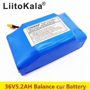 """18650 LiitoKala 36V 5.2Ah 5200mAh высокого сливного 2 колеса электрический самокат самобалансировани литиевая аккумуляторная батарея для самобалансирующейся приспосабливает 6.5"""""""