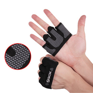 Fitness Half Four-Finger Gloves Weight Lifting Yoga Non-Slip Sports Protection Half Four-Finger Gloves For Women Men