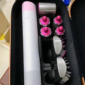 DS 8 رؤساء متعدد الوظائف تصفيف الشعر جهاز مجفف شعر التلقائي الضفر الحديد علبة هدية للالخام وشعر العادي