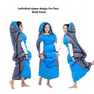 220x75cm acessível Dormir Envelope Inverno Bag Aquecimento Eléctrico Camping Sleeping Bag Outdoor Viajando Sleeping Bag Waterproof