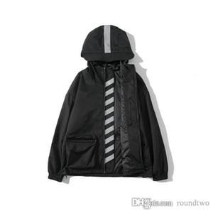 2020 Uçuş Pilot 3M Yansıtıcı Ceket WINDBREAKER Beyaz Beyzbol Askeri Bölüm erkek Jacke kapalı tasarımcı ceketler mens