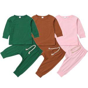Pudcoco Brand New Infant Baby Boy Girl Pajamas Pjs Set Sleepwear Nightwear Clothes Outfit