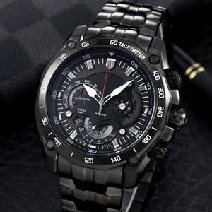 Top qualité de luxe EF Montre-550RBSP-1AV New EF-550RBSP EF 550RBSP 550 Sport pour Homme reloj de Lujo montre à quartz Designer en acier inoxydable