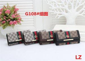 New Fashion Men's and Women's wallet Women's Wallet Quality Leather Men's and Women's General Clutch Bag Ladies handbag L22