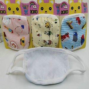 kids face mask cubrebocas tapabocas cloth face masks cheap masks Children's baby mask cartoon warm pure cotton cute dust mask XJkHT