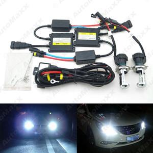 35W AC Car Headlight H4 HID Xenon Bulb Hi Lo Beam Bi-Xenon Bulb Light Digital Slim Ballast HID Kit #4482