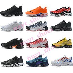 Nike TN Plus VaporMax air max Running Shoes uomini Jogging formatori moda Calzature sportive delle donne casuali Athletic progettista scarpe da ginnastica Eur 40-46