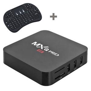MXQ Pro RK3229 Mini I8 клавиатура Android 7.1 TV Box Amlogic S905W Quad Core Смарт 2G 16G Поддержка 4К телеприставку
