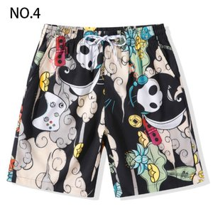 Men's Summer Casual Shorts 2019 New Quick-drying Casual Shorts Men's Print Tide Sports Shorts Men's Beach Pants Large Size M-4XL 9 Styles