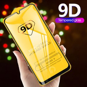 9D Curved Tempered Glass on the For Samsung Galaxy A30 A50 A10 Screen Protector For Samsung A51 M20 M30 M40 A40 A60 A70 A80 A90