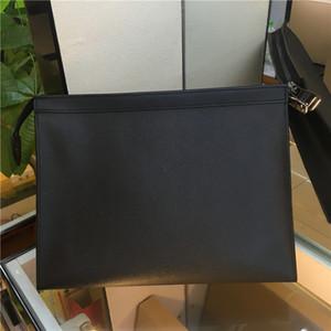 Yeni Marka Yeni Erkek Debriyaj Çanta Tuvalet Kılıfı Çanta Yıkama Torbası Makyaj Kutusu Hakiki Deri Erkek BagsBrand çanta fermuarlı çanta 27 CM M61692 N41696