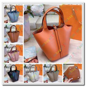 Sac Hermes Picotin Lock Sac Picotin Lock 18 PM Hermes concepteur de luxe sac en cuir véritable femmes sac filles mini-sac panier de légumes totes sacs de concepteur portefeuilles