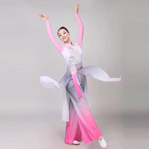 Neue Ankunfts-Chinese Folk-Tanz-Abnutzungs-Frauen Yangko Tanz-Kostüm Female Fan Outfit Lady Elegance Stage Performance Kleidung
