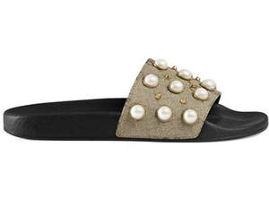 İyi Kalite Womens Terlik Sandalet Unisex Yaz Plaj Nedensel İnci Terlikler Terlik Sandal Ayakkabı