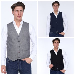 3 DAYS FREE FAST SHIPPING ZENZEN MENS WAISTCOATS VESTS St.Valentine's Gift For Men Turkish Quality 2020 Style Istanbul Homme