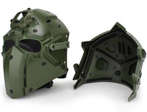 Taktische OBSIDIAN GREEN GOBL TERMINATOR Helm Maske brille für Jagd Paintball Cosplay Film Prop