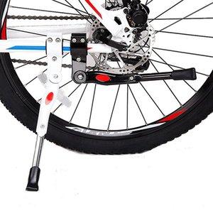 Bisiklet Park Raf Kickstand Dağ Bisikleti Bisiklet Döngüsü Prop Yan Arka Kick Bisiklet Aksesuarları Bisiklet ayak araçları Standı LJJK2167