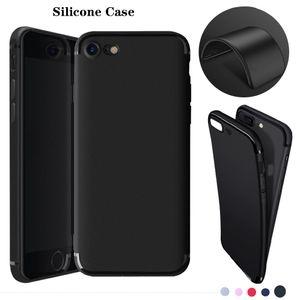 Blando de silicona para iPhone Pro Max 11 8 7 6plus Samsung Huawei Xiaomi Uno más elegante del teléfono