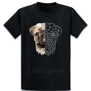 Pug Art T Shirt Crazy Custom Casual Pictures Male Crew Neck Cotton Spring Shirt