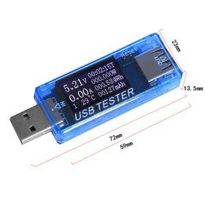 USB Charger Doctor Voltage Current Meter Voltímetro Amperímetro de Trabalho Tempo energia da bateria Capacidade USB Ferramentas Tester Medição