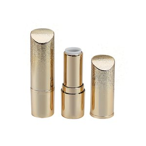12.1mm Fashion Gold Empty Lipstick Tube DIY Lip Balm Stick Refillable Bottle Container Makeup Tools F3013