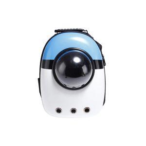 10pcs portable al por mayor de la burbuja animal doméstico del recorrido del morral del portador Cápsula espacial Diseño impermeable Mochila bolso de gato y perro pequeño