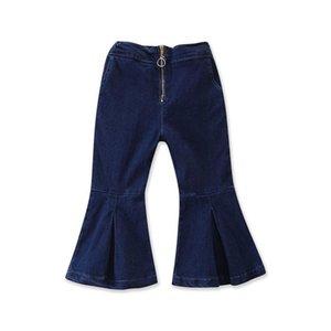 Vestiti per bambini 2020 bambini Tutto-fiammifero dei jeans Ragazze Pantaloni Flare