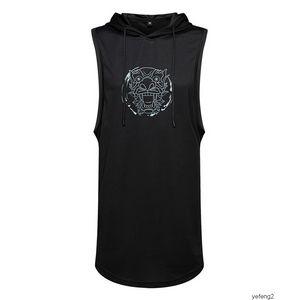 mens shirtmens tasarımcı Kolsuz Yelek Orta Boy Para Lian Cap t Gömlek Spor Trend Kısa Kollu