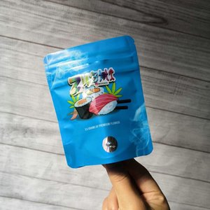 2020 ZUSHI 35g Mylar Flavor Bag Herb Flower Zushi Zipper Bag Dry Tobacco Retail Bag Zushi Mylar Bags 35g Packaging Bags From sKwAa