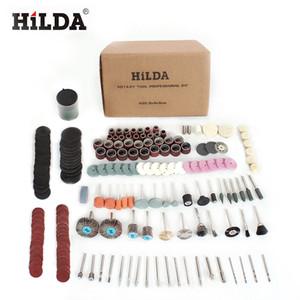 هيلدا 248 قطع أداة دوارة الملحقات لسهولة القطع طحن الرملي نحت وتلميع أداة مزيج ل هيلدا دريميل