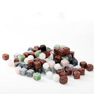 mode de poudre de cristal 7style glace vin pierre pierre glace bloc vin articles bar outil Obsidian Ice Bar Autre produit T2I5811