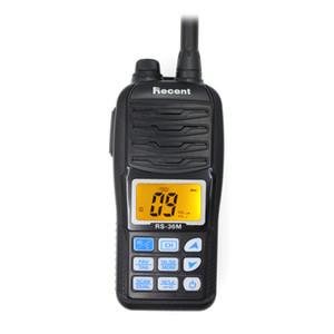 Водонепроницаемый RS-36M VHF Marine Radio 156.000-161.450 МГц IP67 Водонепроницаемый портативный поплавковый радиосвязь 5 Вт Walkie Talkie