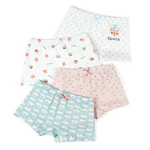 Underwear Crianças Cotton Panties menina miúdos tanga cueca cueca criança Meninas do pugilista roupas de bebê crianças cuecas 2020 novo