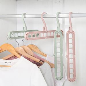 Hot Rodar Anti-skid Folding Hanger Hanging portátil para casa Wet roupas secas FQ-ing