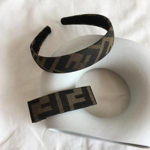 Retro Buchstabedruckes Frauen Stirnbänder neue Haarband für Geschenk schicken Luxus-Mode Stirnbänder Designer Stirnbänder freies Verschiffen