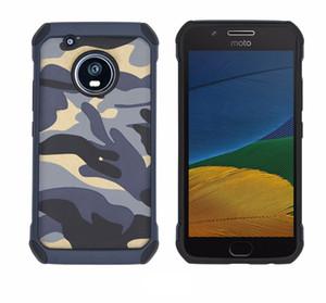 Coque arrière camouflage armée pour Motorola Moto Z2 Z3 Z4 Play G7 E5 G6 Plus G5 étui de protection pour téléphone