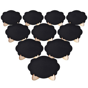 20pcs Mini Chalkboard Signs Small Blackboard with Wooden Frame Easel for Kids Craft and Party Wedding Event Table Decor