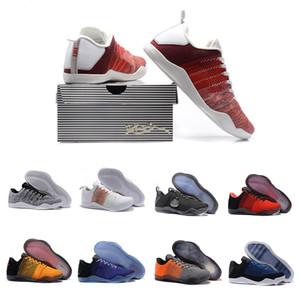 Neue 11 Elite Low Herren Gold-Black Mamba Oreo-Basketball-Schuhe der Männer für Männer 11s Trainer Designer Chaussures Schuhe Turnschuhe 7-12