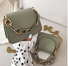 Mini Bag Female 2020 New New Version of The Foreign Chain Small Square Bag Fashion Wild Messenger Portable Coin Purse