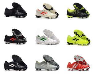 En Mens Yüksek Bilek Gençlik Futbol Boots PREDATOR MANİ 18 + x Pogba FG Hızlandırıcı DB Çocuk Futbol Ayakkabıları PureControl Purechaos Futbol Profilli