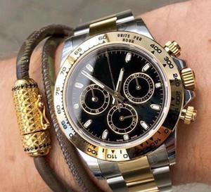 2020 U1 parte superior del reloj para hombre mecánico automático del bisel de cerámica Spphire de cristal de acero inoxidable macizo de cierre Hombres Relojes Hombre Reloj de pulsera