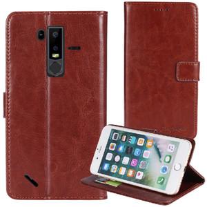 YLYH TPU سيليكون حماية الجلد جل المطاط غطاء الهاتف الحال بالنسبة لUlefone درع 6 6S 6E X X2 X3 X5 ملاحظة 7 7P الحقيبة شل المحفظة ETUI الجلد